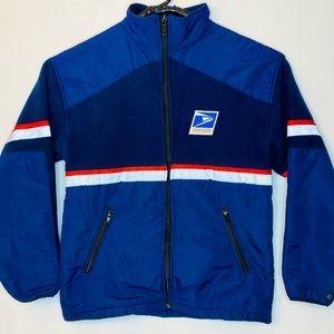United States Postal Service Jacket Full Zip Large